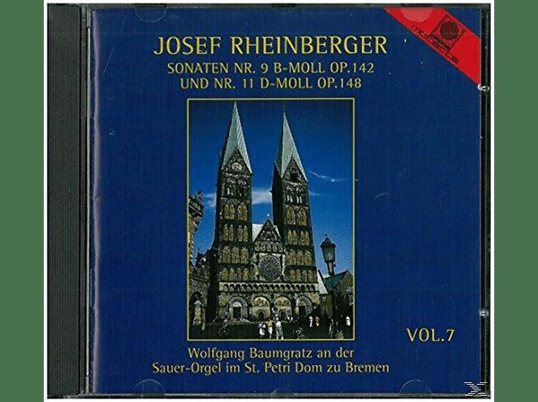 Wolfgang Baumgratz, Josef Gabriel Rheinberger - Josef Rheinberger Vol.7 [CD]