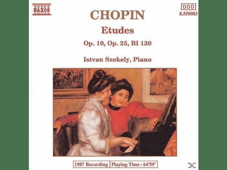 Istvan Szekely - Etudes [CD]
