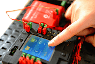 FISCHERTECHNIK 522429 TXT Controller, Rot, Grün, Schwarz