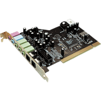 TERRATEC 10063 Sound Aureon 5.1 PCI, Soundkarte