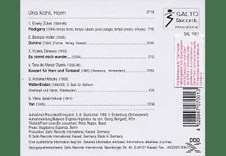 Urla Kahl - Horn  - (CD)