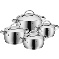 WMF 17.2604.6040 Concento Topf-Set 4-teilig (Cromargan® Edelstahl rostfrei 18/10)