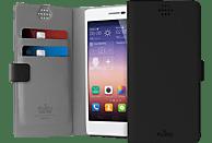 PU-120916 Booklet Case Universal Slim Wallet 360°  Universal  Schwarz/Grau