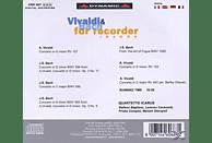 Quartetto Icarus - Vivaldi und Bach für Blockflöten [CD]