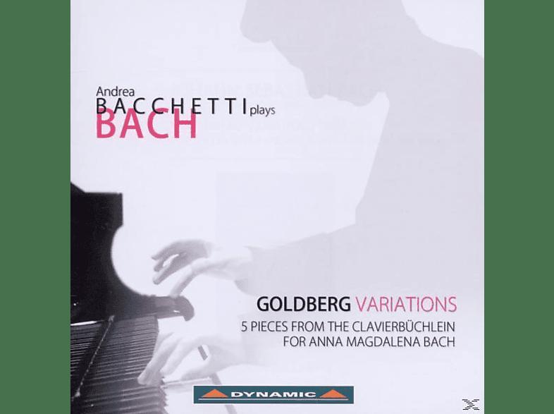 Andrea Bacchetti - Goldbergvariationen [CD]