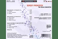 Berman, Boreyko, Tifu, Orch.della Svizzera Italiana - Die Violinkonzerte [CD]