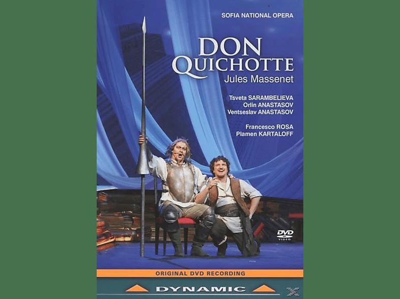 National Opera Sofia, Sarambelieva/Anastasov/Teneva/Rosa/Papazikov/+ - Don Quichotte [DVD]