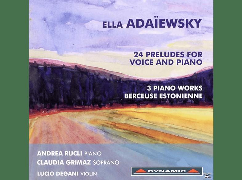 Rucli,Andrea/Grimaz,Claudia/Degani,Lucio - 24 Präludien Für Gesang Und Klavier [CD]