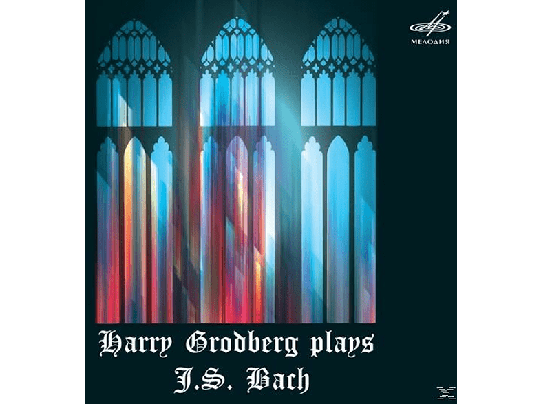 Harry Grodberg (org), Harry Grodberg - Harry Grodberg plays J.S.Bach [CD]