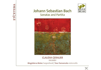 Claudia Gerauer (Blfl), Magdalena Malec (Cemb), To - Sonaten Und Partiten  - (CD)
