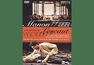 Maria Guleghina, Lucio Gallo, José Cura, Ernesto Gavazzi, La Scala Choir, La Scala Orchestra - Manon Lescaut  - (DVD)