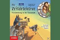Die Zeitdetektive 01: Verschwörung in der Totenstadt - (CD)