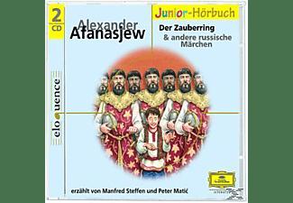 Manfred Steffen, Steffen,Manfred/Matic,Peter - Russische Märchen 2-Der Zauberring  - (CD)