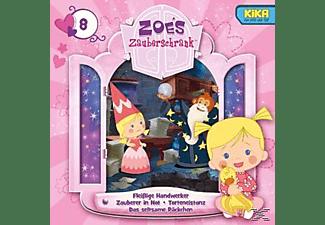 Zoes Zauberschrank (tv-hörspiel) - 8: Fleissige Handwerker/Zauberer/Eistanz/Päckchen  - (CD)
