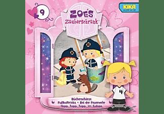 Zoes Zauberschrank (tv-hörspiel) - 9: Bücherschätze/Fußballtricks/Feuerwehr/Im Galopp  - (CD)