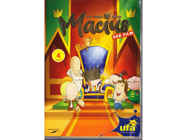 Der kleine König Macius - Der Film [DVD]