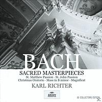 Karl Richter, Karl/mbo Richter - Matthäus-Passion (Ga)/Johannes-Passion.(Ga)/+ - [CD]
