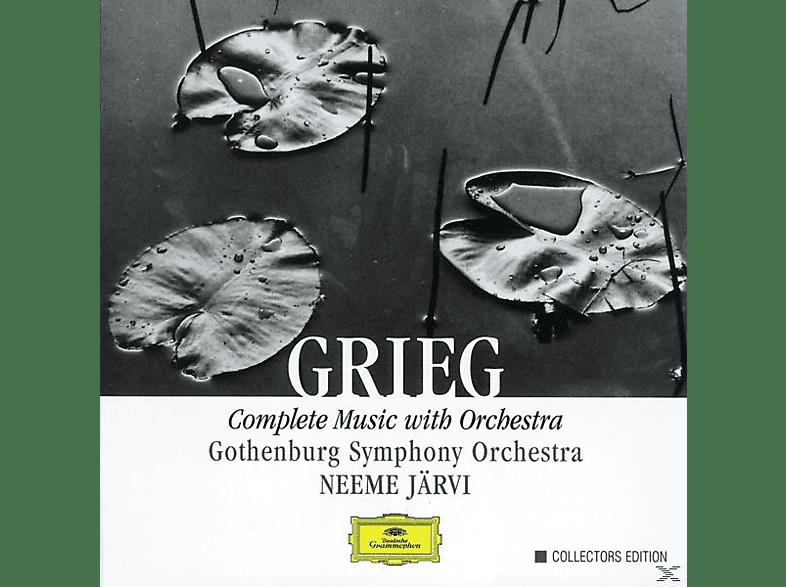 Jaervi Neeme, Neeme/gso Järvi - Sämtliche Orchesterwerke (Ga) [CD]