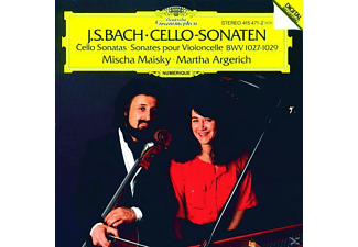 Martha Argerich, Martha Argerich Mischa Maisky - Sonaten Für Cello Und Klavier Bwv 1027-29  - (CD)
