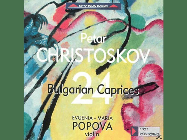 Evgenia-maria Popova - 24 bulgarische Capricen Für Violine solo [CD]