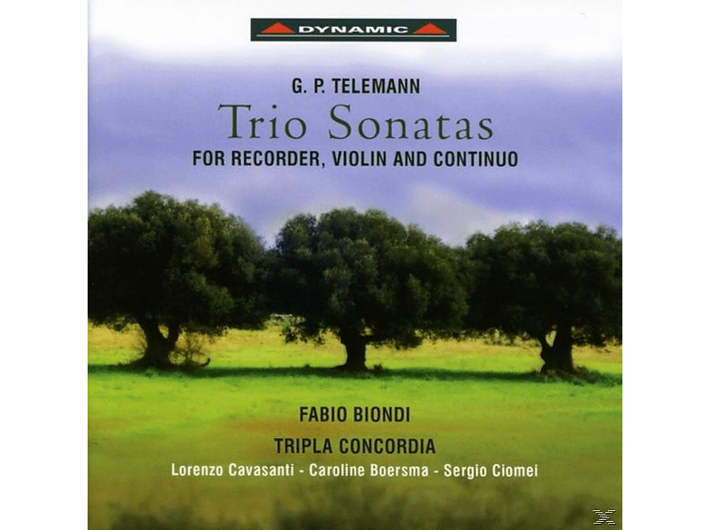 Fabio Biondi, Tripla Concordia - Trio Sonatas [CD]