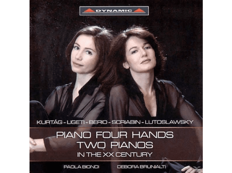 Paola Biondi - Piano four Hands two Pianos in the XX Century [CD]