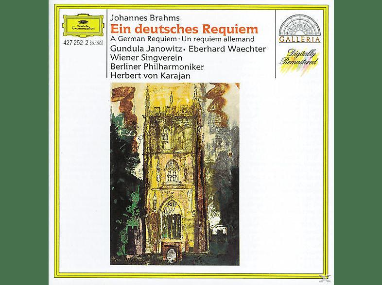 VARIOUS, Janowitz/Wächter/Karajan/BP - Ein Deutsches Requiem [CD]