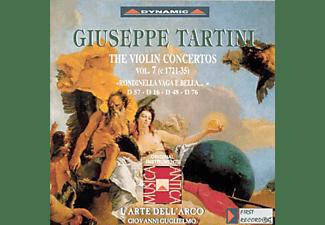 L'arte Dell'arco (hi Guglielmo & Lazari - Sämtliche Violinkonzerte Vol.7  - (CD)