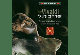 Ensemble Barocco Sans Souci: Gianpaolo C - Aurei Zeffiretti-Sonaten  - (CD)