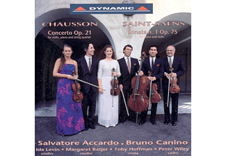 Salvatore Accardo, Toby Hoffman, Peter Wiley, Bruno Canino, Ida Levin, Margaret Batjer - Saint-Saens/Chausson - (CD)