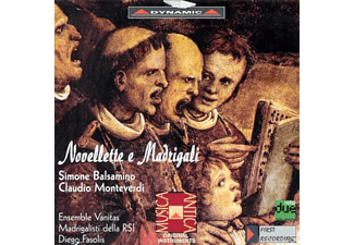 VARIOUS - Novellette e Madrigali - (CD)