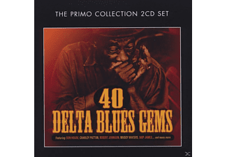VARIOUS - 40 Delta Blues Gems  - (CD)