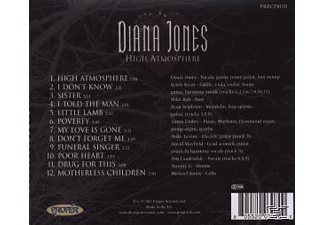 Diana Jones - High Atmosphere  - (CD)