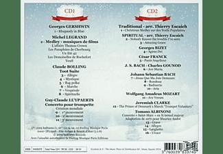 Eric Aubier, Various Orchestras - Die Weihnachts-Trompete  - (CD)