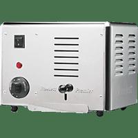 GASTROBACK 42002 Rowlett Toaster Silber (1300 Watt, Schlitze: 2)