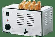 GASTROBACK 42004 Rowlett Toaster Silber (2300 Watt, Schlitze: 4)