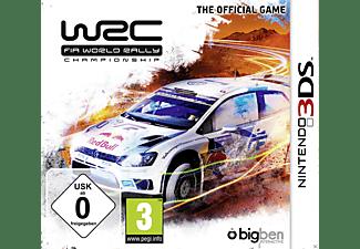 WRC FIA WORLD RALLY - [Nintendo 3DS]