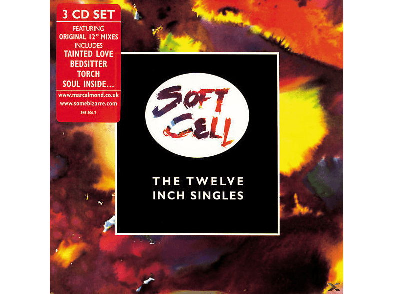 """Soft Cell - The 12"""" Singles [CD]"""