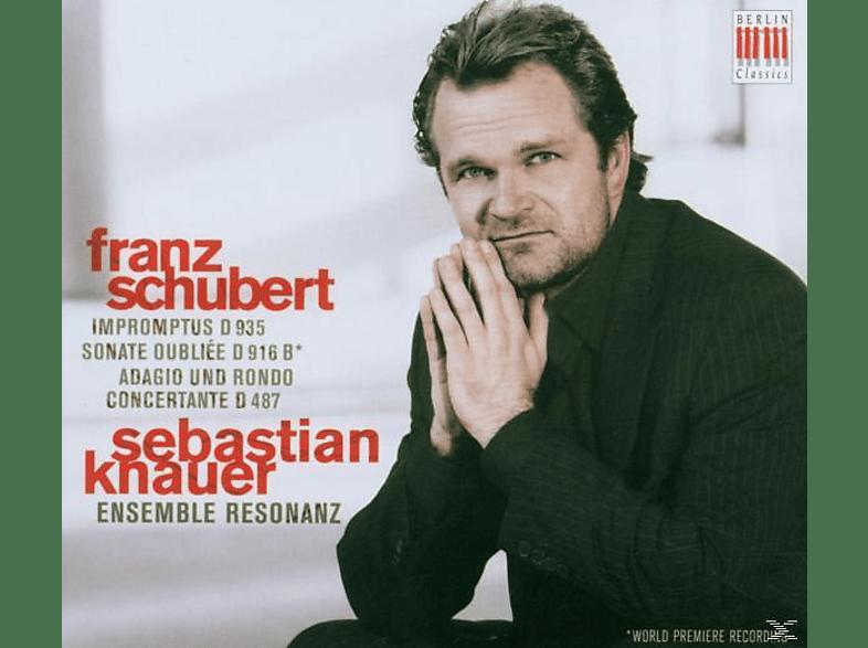 Sebastian Knauer, Sebastian/ensemble Resonanz Knauer - Klavierwerke D 935, D 916b, D 487 [CD]
