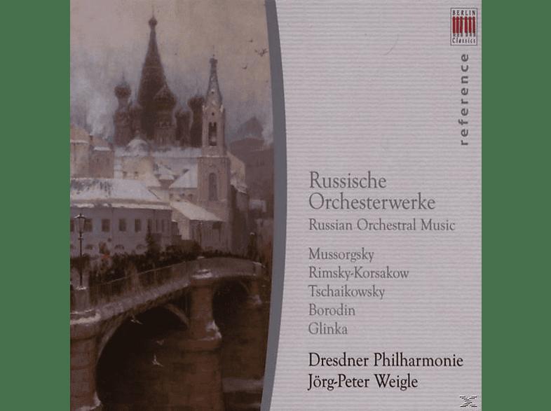 J.P. Weigle, Jörg-peter/dp Weigle - Russische Orchesterwerke [CD]