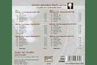 Jaap Ter Linden - Bach: Cello Solo Suites [CD]