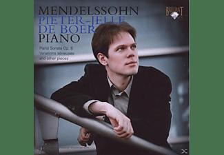 Pj De Boer Ypf, Pieter-jelle De Boer - Mendelssohn: Piano  - (CD)