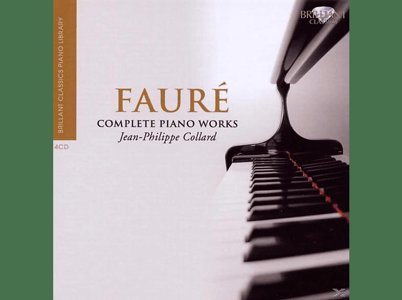 Jean-philippe Collard & Bruno Rigutto - Faure:Sämtliche Klavierwerke [CD]