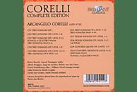 Rémy Baudet, Albert Brüggen, Frank Wakelkamp, Musica Amphion - Corelli Edition: Complete Works / Gesamtwerk [CD]