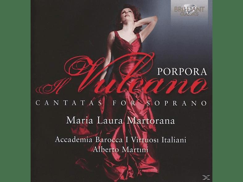 Laura Maria Martorana, I Virtuosi Italiani, Alberro Martini - Vulcano Cantatas For Soprano [CD]
