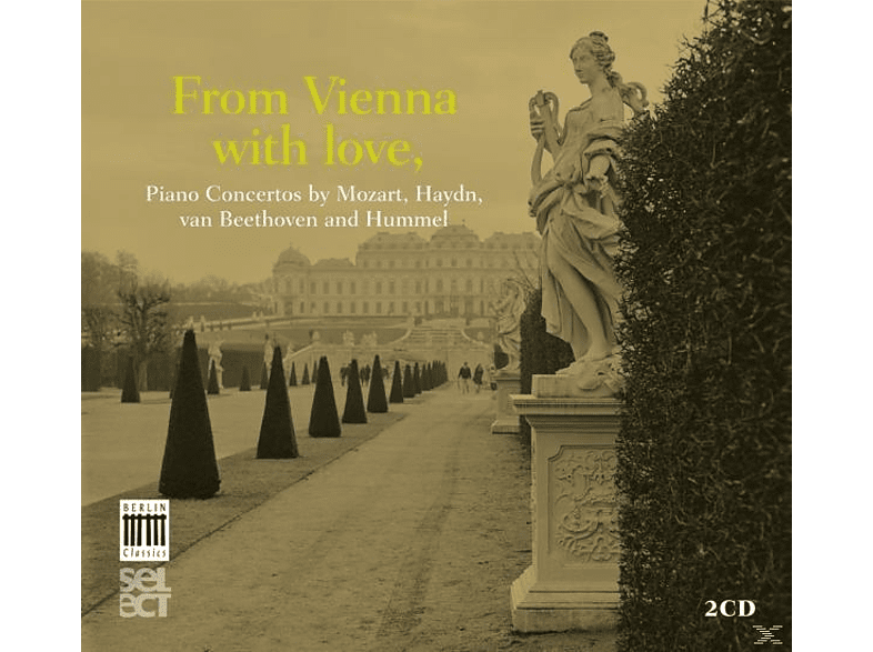 VARIOUS - From Vienna With Love-Piano Concertos [CD]