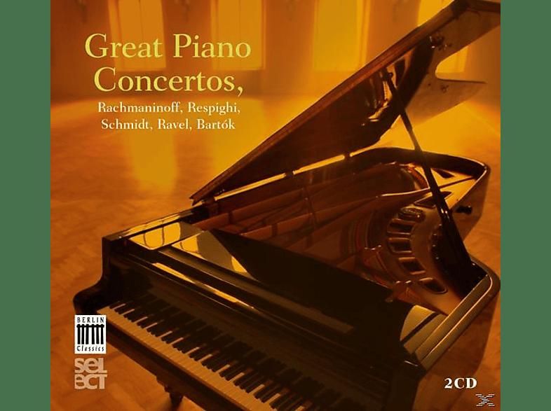 VARIOUS - Great Piano Concertos [CD]