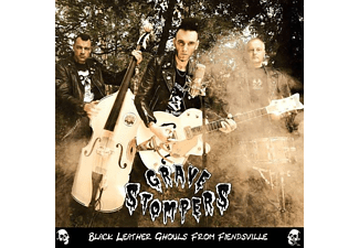 Grave Stompers - Black Leather Ghouls From Fiendsvil  - (CD)