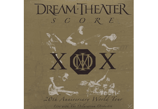 Dream Theater - Score-20th Anniversary World Tour  - (CD)