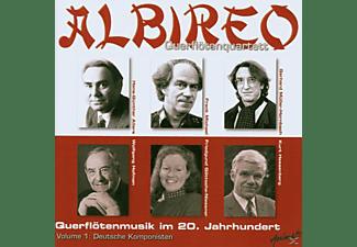 ALBIREO QUERFLOETENQUAR., Albireo Querflötenquartett - Querflötenmusik Im 20.Jahrhundert  - (CD)
